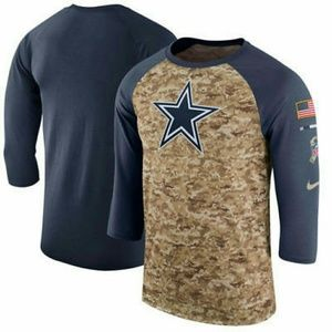 info for 035af d2c8c Men's Dallas Cowboys Salute to Service camo shirt